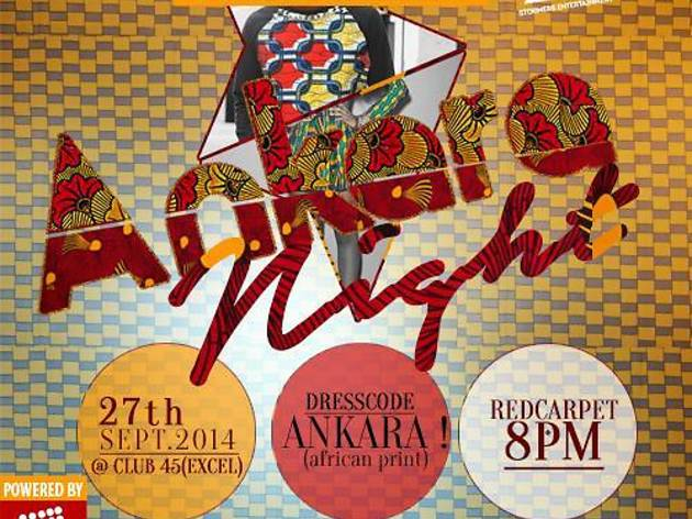 Ankara Night at Club 45