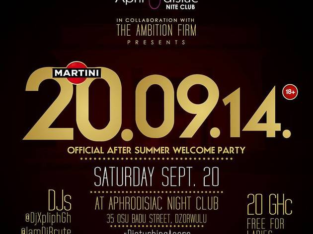 After Summer Welcome Party at Aphrodisiac Nite Club