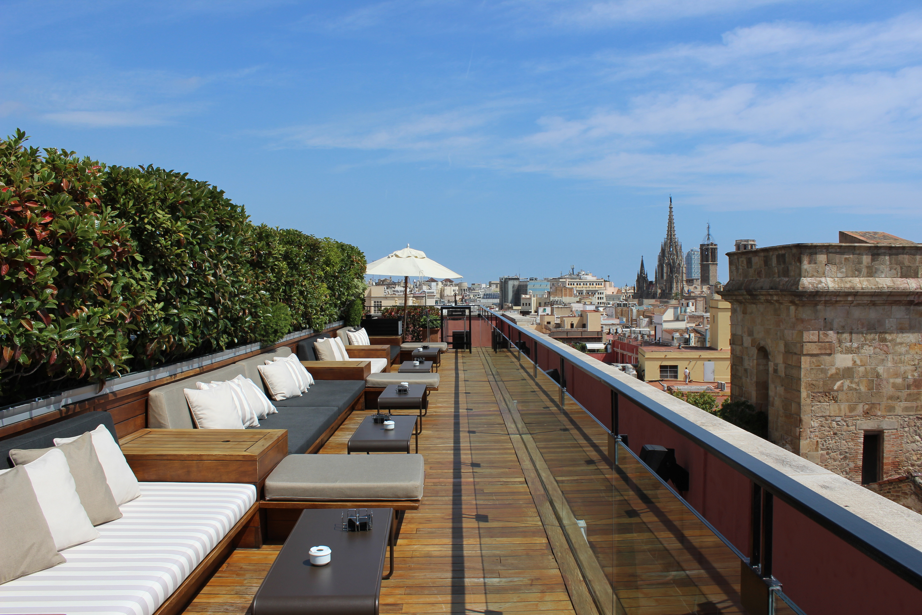 Stellar rooftop bars in Barcelona