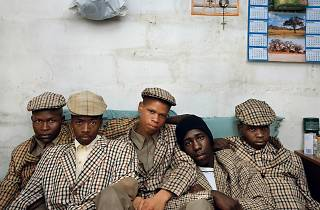 Pieter Hugo, Kin: Loyiso Mayga, Wandise Ngcama, Lunga White, Luyanda Mzantsi and Khungsile Mdolo after their initiation ceremony, Mthatha, 2008