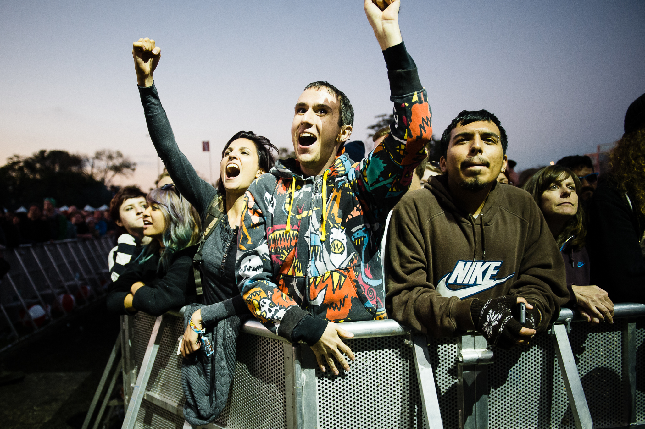 Humboldt Park is filled with punks and rockers during Riot Fest Chicago on September 13, 2014.​