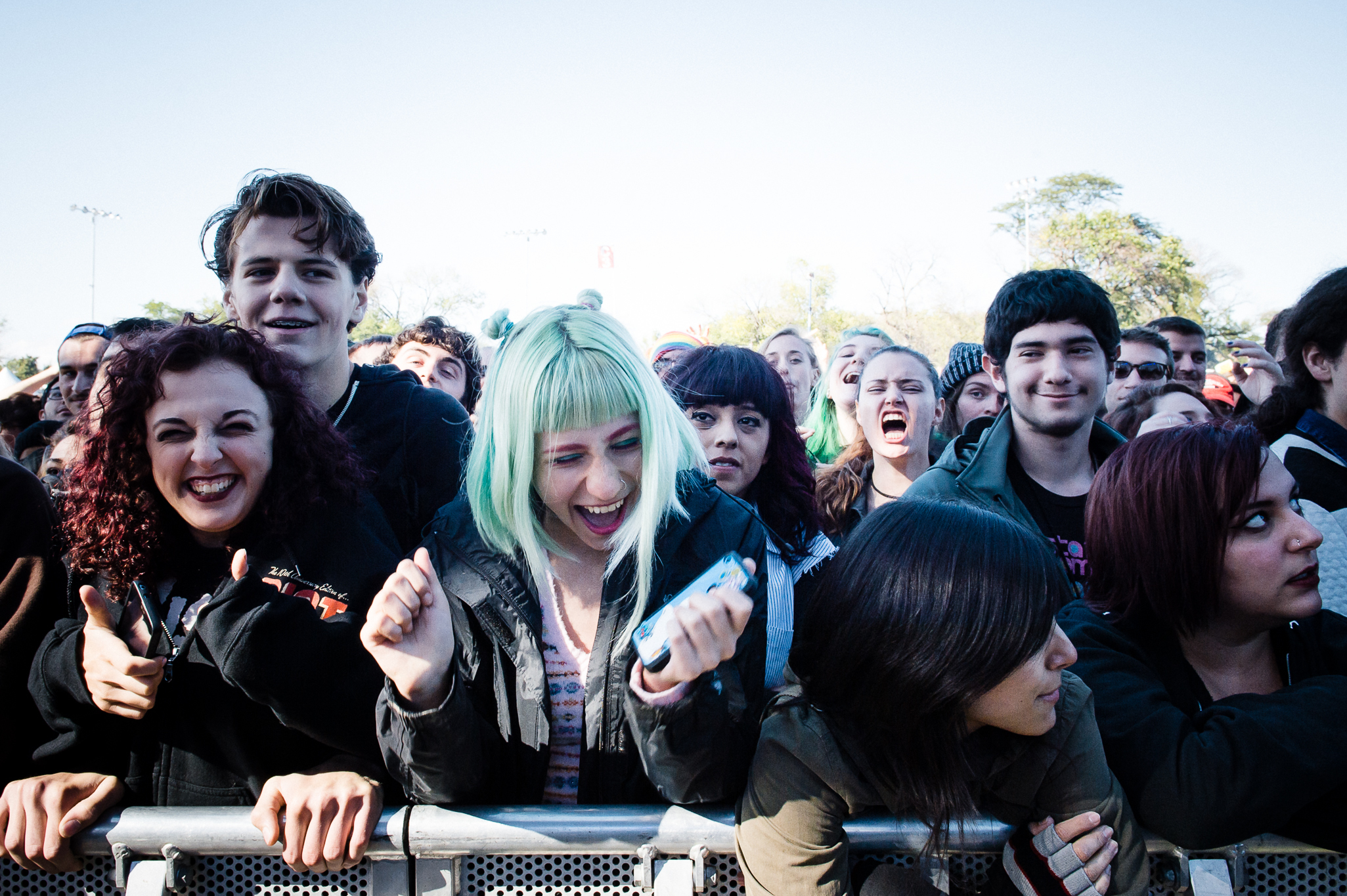Riot Fest 2014 Saturday faces in the crowd