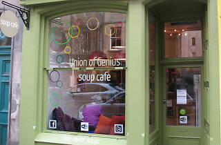 Union of Genius, restaurants