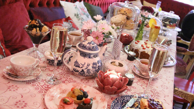 The Richmond Tea Rooms, Manchester, Tea