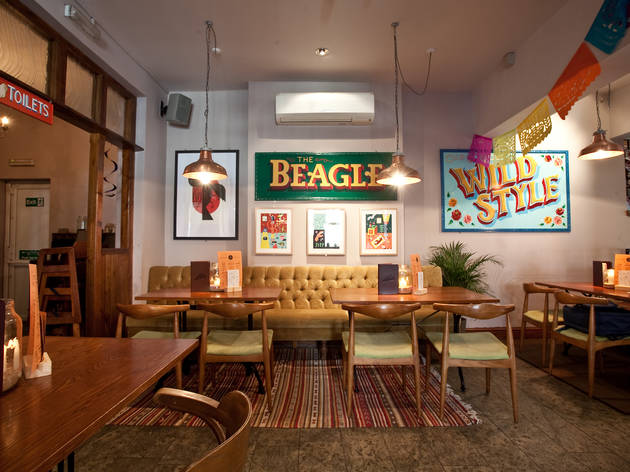 The Beagle, Manchester, Interior