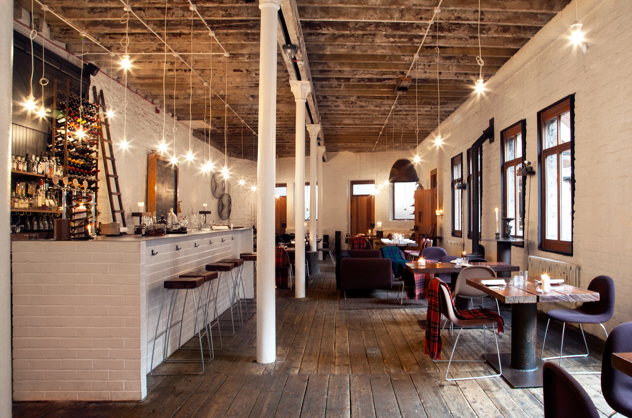 Timberyard Restaurants In Old Town Edinburgh
