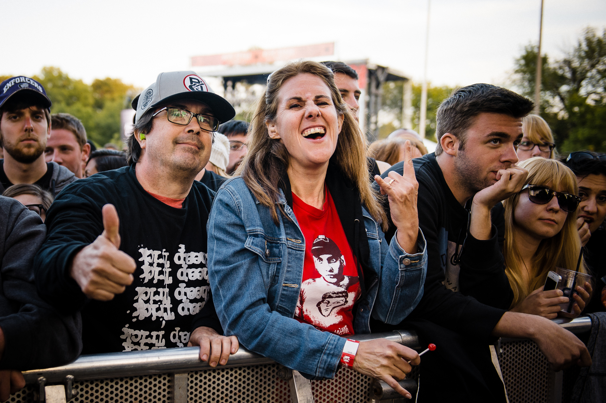 Riot Fest 2014 Sunday faces in the crowd