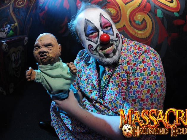 The Massacre Haunted House