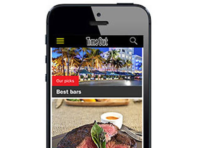 Time Out Los Angeles app for iPhone