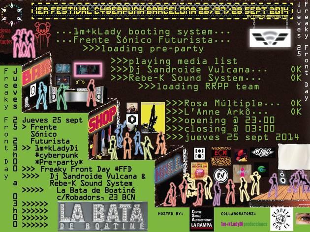 La Bata de Boatiné: festa cyberpunk