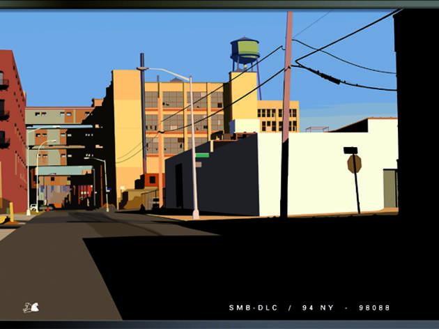 (Alain Bublex, 'Paysage 134 (fantôme SMB DLC 94 NY 98088)', 2014 / Courtesy de l'artiste et galerie Georges-Philippe et Nathalie Vallois, Paris)