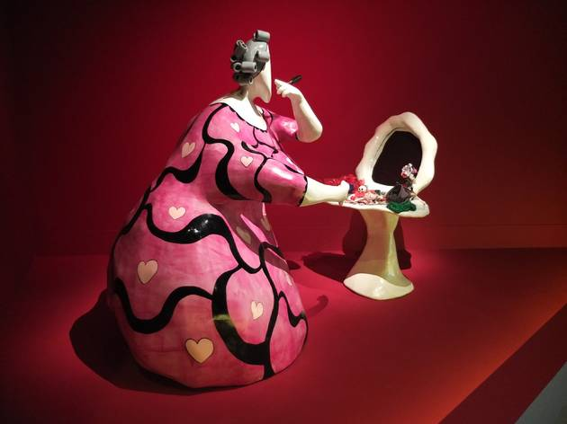 (Vue de l'exposition 'Niki de Saint Phalle' / © TB / Time Out)