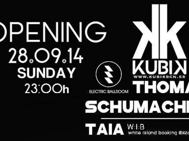 Inauguració Kubik Club