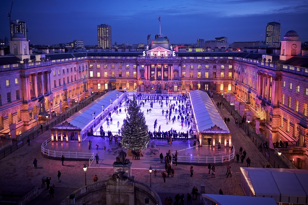 Where to go ice skating in London