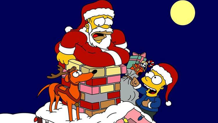 Noël - Simpsons