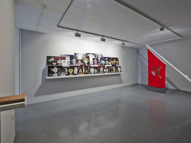 Pio Abad (Installation view of 'Some are Smarter than Others' at Gasworks, 2014)