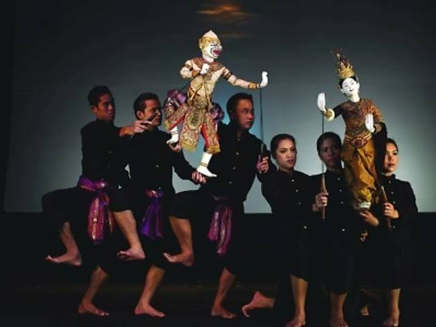 Thai Classical Small Puppet Theatre