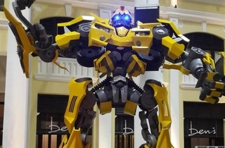 Autobots At Gurney Paragon Mall