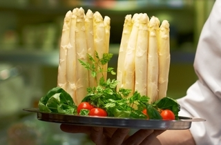 White Asparagus promotion at Feringgi Grill