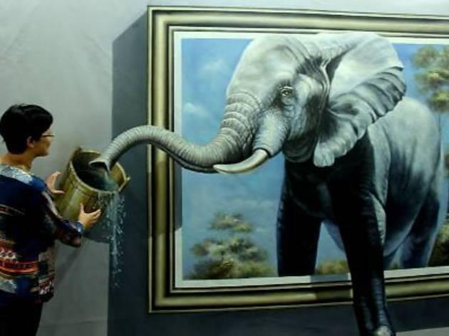 3D Art Exhibition at Gurney Paragon