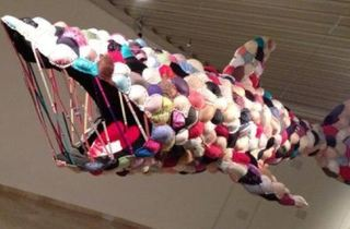 Fatal Attraction: The Bra Shark exhibition