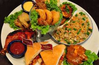 Prosperity Platter at Hard Rock Cafe