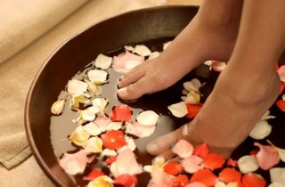Valentine's treat for two at Rock Spa
