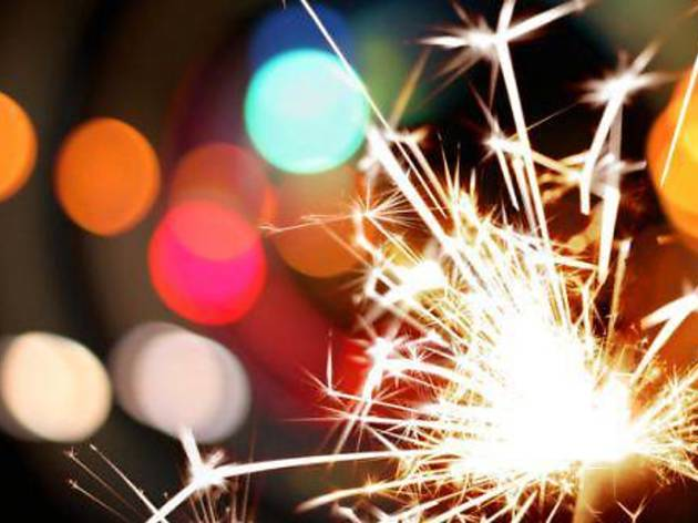 New Year�s Eve Countdown at Festive Square