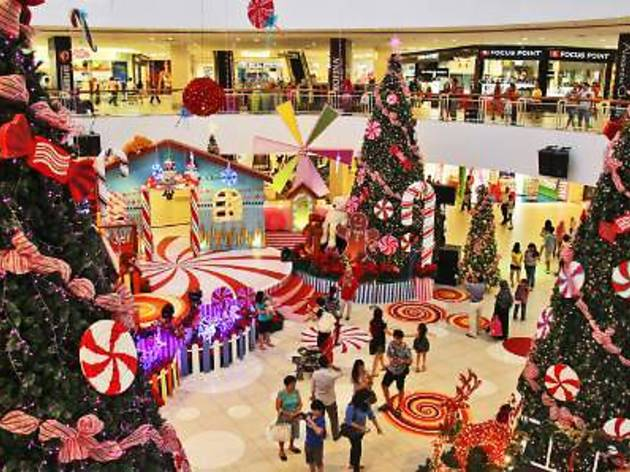 Christmas at Queensbay Mall