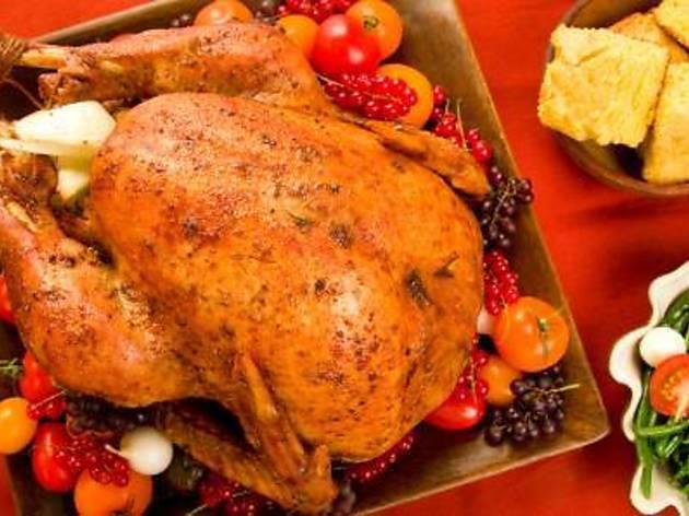 Thanksgiving dinner buffet at G Cafe