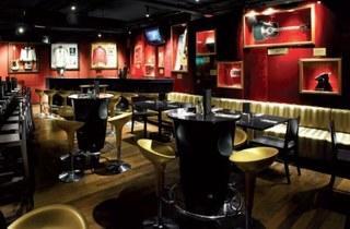 Hard Rock Cafe Halloween night