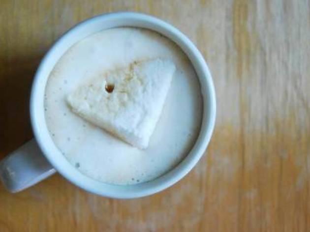 Huey & Wah rainy day hot cocoa promotion