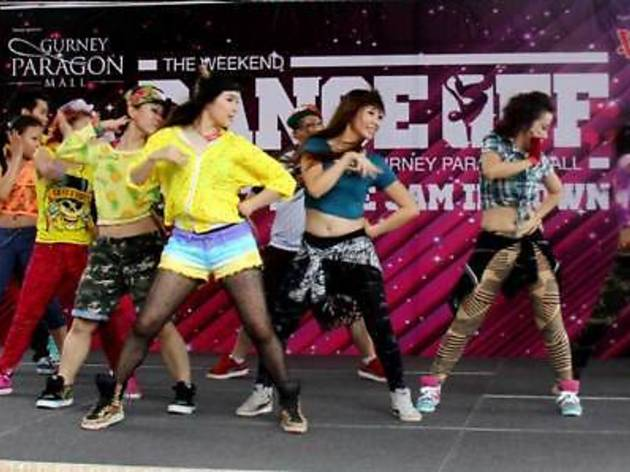 The Weekend Dance Off at Gurney Paragon