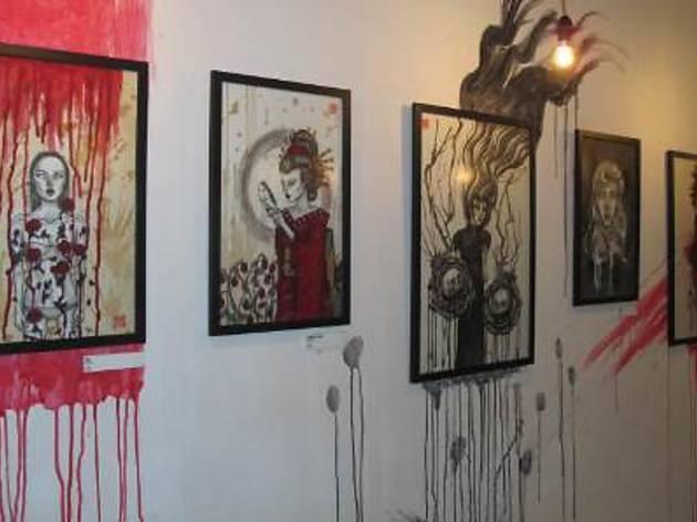 De Rosis Nascentibus art exhibition