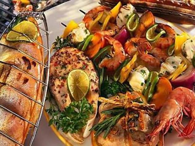 G Cafe Merdeka Seafood BBQ