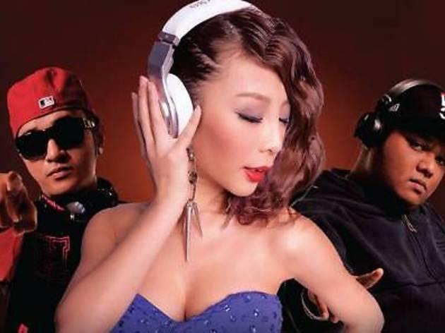 DJ Alyshia at Cuvee