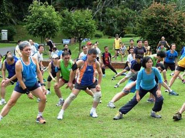 Penang Bridge International Marathon running clinic