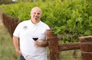 A wine dinner with George Sinas