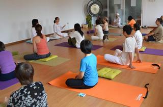 Hatha Yoga class at Inner Peace Yoga Circle