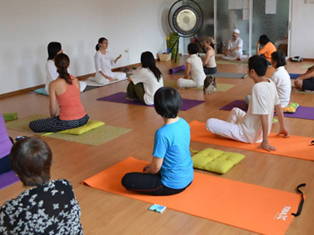Hatha Yoga class at Inner Peace Yoga Circle