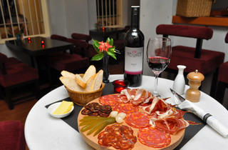 Gourmet French food and wine pairing