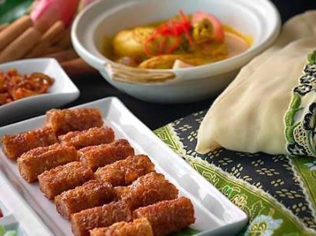 Swez Brasserie Peranakan cuisine promotion