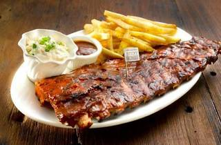 Dads eat free at Morganfield's