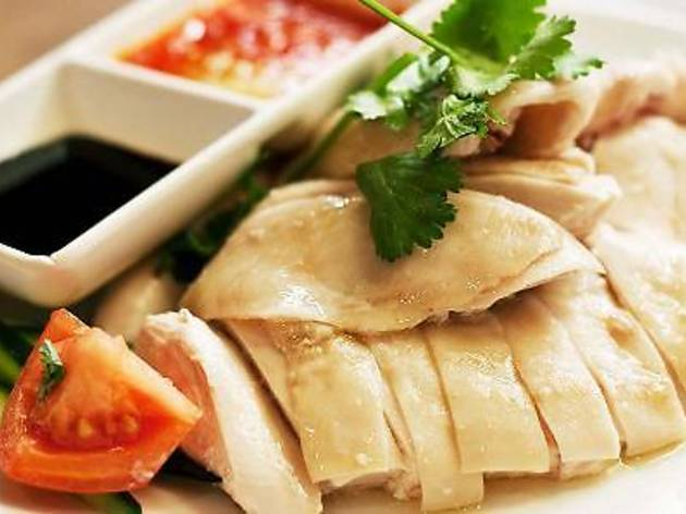 Tropical Spice Garden Cooking School: Hainanese chicken rice set