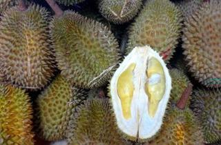 Durian eating challenge at Chin Ho Plaza