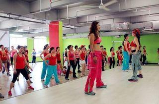 Zero Fitness Dance Studio promotion