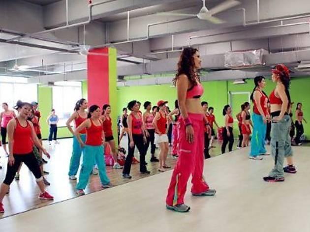 Zero Fitness Dance Studio promotion