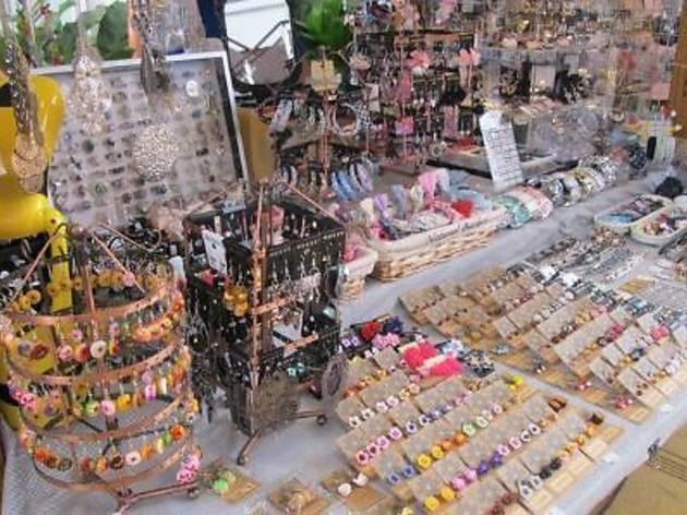 Weekend market at New World Park