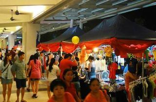 Flea market at All Seasons Place