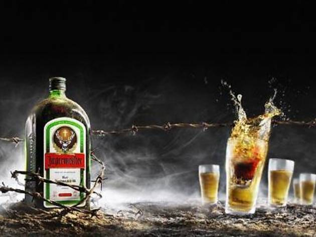 BED Auto-City Jager Bomb promotion